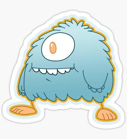 Fuzzy Wuzzlsmith Sticker