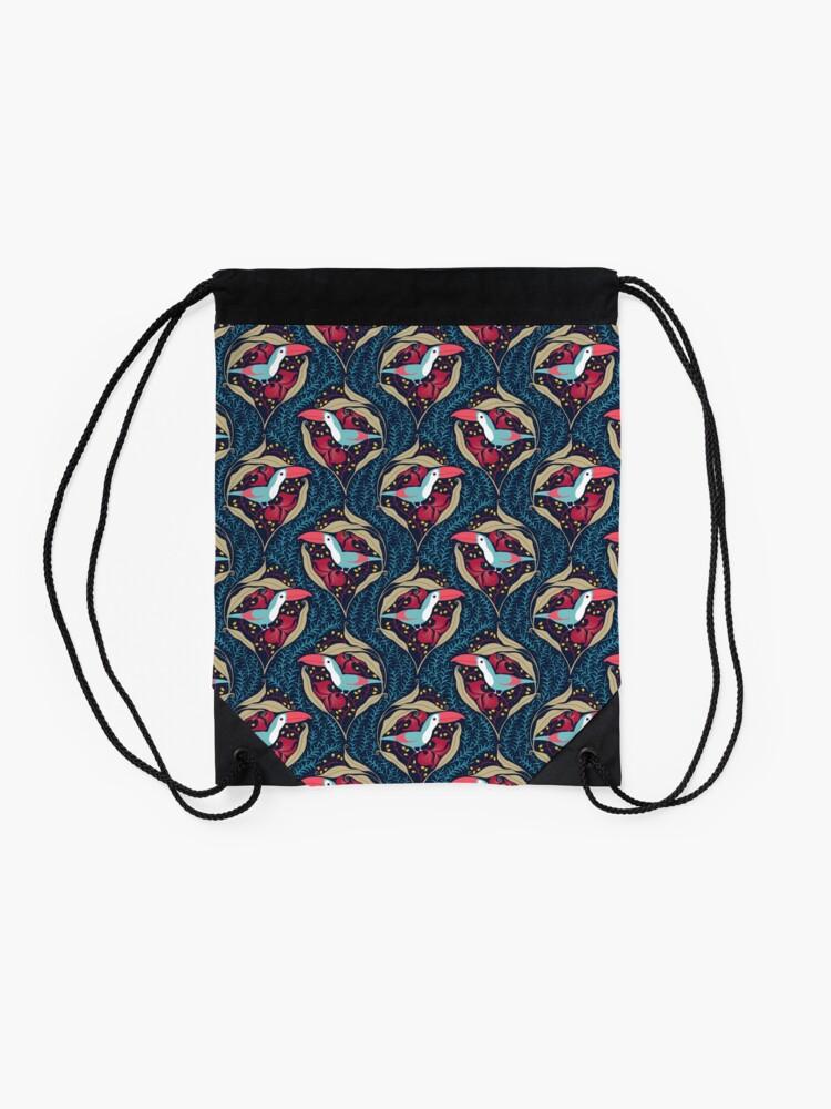 Alternate view of Toucan Drawstring Bag