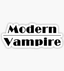 Modern Vampire  Sticker