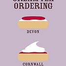 CREAM TEA ORDERING by Stephen Wildish