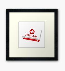 First Aid Kit Framed Print