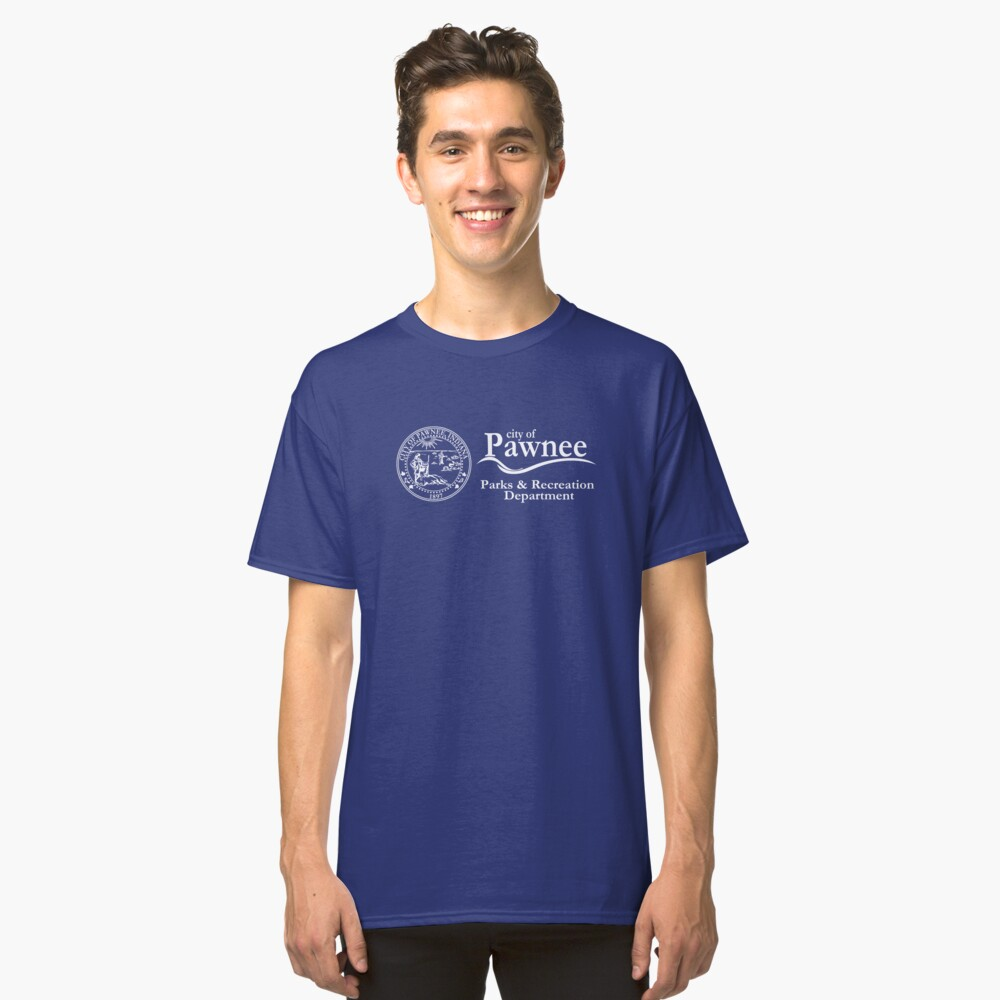 Pawnee Indiana Parks & Recreation Department Classic T-Shirt Front