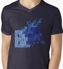 Now Is The Winter Of Our Discontent Mens V-Neck T-Shirt