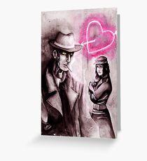 Valentine's Investigations Greeting Card