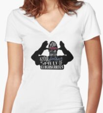 French Taunter Women's Fitted V-Neck T-Shirt