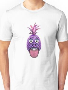 Funny Fruit Face Head Character Unisex T-Shirt