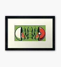 Series 2 - Grass Type Framed Print