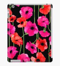 Blumenmuster iPad-Hülle & Klebefolie