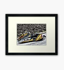 Road Racing at the TT Framed Print