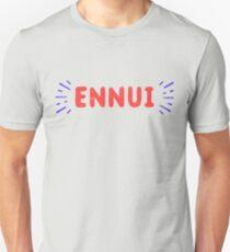 Ennui T-Shirt | Nihilist | Nihilism  T-Shirt