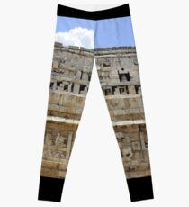 Ancient Ruins in Mexico Leggings