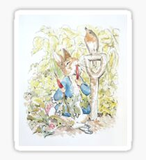 Peter Rabbit Watercolor  Sticker