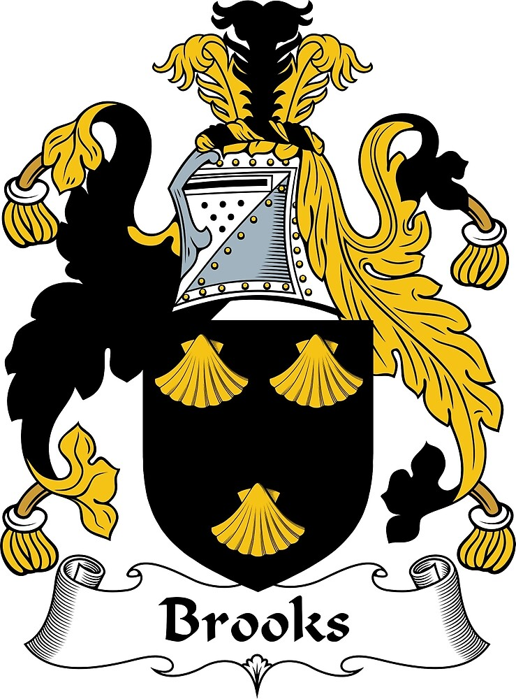 Brooks Coat of Arms / Brooks Family Crest by ScotlandForever
