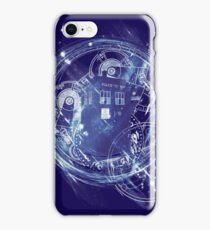 Time and space machine iPhone Case/Skin