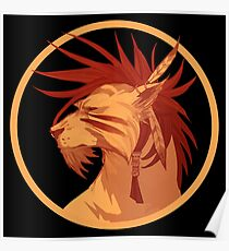 Red XIII Poster