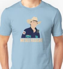 Nicole Haught - Minimalistic Poster (Wynonna Earp) Unisex T-Shirt