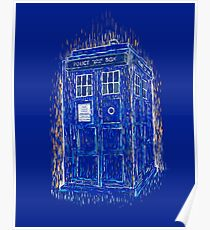 tardis by Vincent Poster