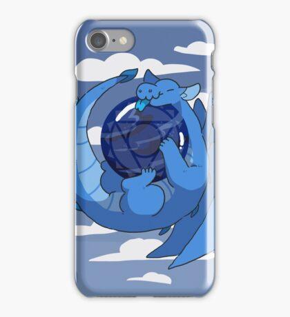 Sodalite dragon iPhone Case/Skin