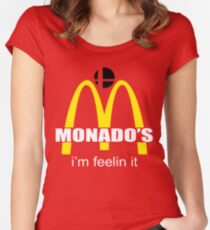 Monado's - i'm feelin it - SM4SH Women's Fitted Scoop T-Shirt