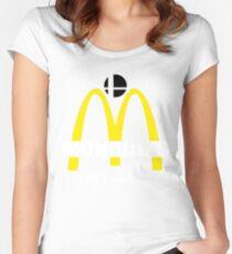 Monado's - i'm feelin it - SM4SH Women's Fitted Scoop T-Shirt