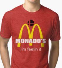 Monado's - i'm feelin it - SM4SH Tri-blend T-Shirt