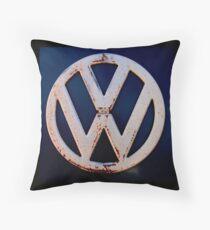VW Memories Throw Pillow