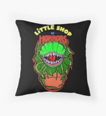 little shop of horrors Audrey 2 Throw Pillow