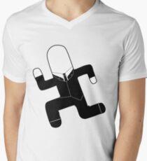 Slender FF V-Neck T-Shirt