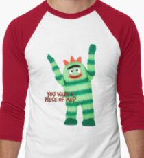 Brobee - You Want A Piece Of Me? Men's Baseball ¾ T-Shirt
