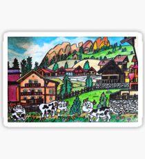 Tyroler Cows Sticker