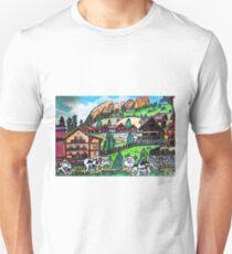 Tyroler Cows Unisex T-Shirt