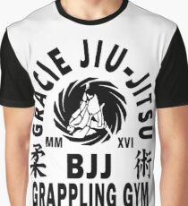 Gracie Jiu Jitsu Graphic T-Shirt