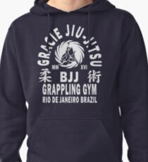 Gracie Jiu Jitsu Pullover Hoodie