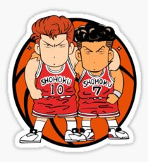 Slam Dunk Chibi Basket Design Sticker