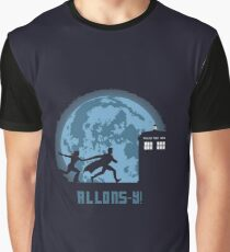 """Doctor Who """"Allons-y"""" 10th Doctor Graphic T-Shirt"""