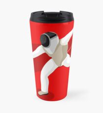 Fencing 2016 Olympics Summer Games Travel Mug