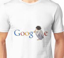 Google ( the L of google is replaced by L of death note ) Unisex T-Shirt