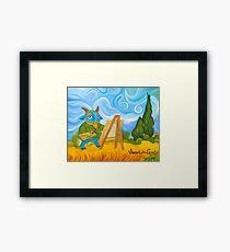 Vincent van Goat Framed Print