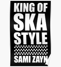 King Of Ska Style Poster