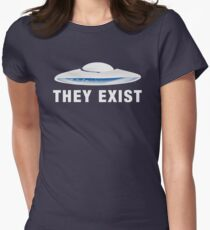 They Exist [Person of Interest] Women's Fitted T-Shirt