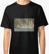 Winter scene Classic T-Shirt