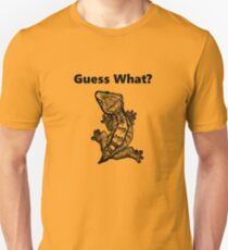 """Crested Gecko """"Guess What? Frog Butt"""" T-Shirt"""