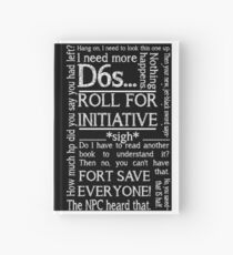 Game Master Quotes Hardcover Journal