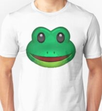 Frog Face Emoji T-Shirt