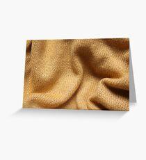Yellow Knit Greeting Card