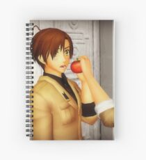 Romano and his Tomato Spiral Notebook
