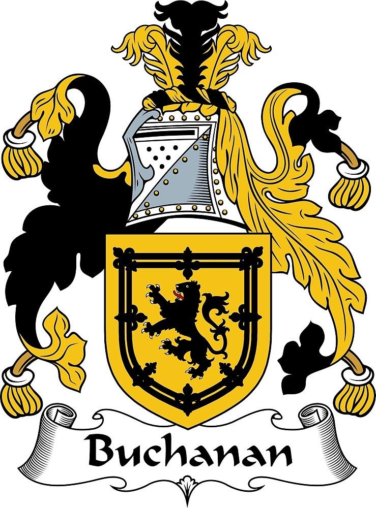 Quot Buchanan Coat Of Arms Buchanan Family Crest Quot By