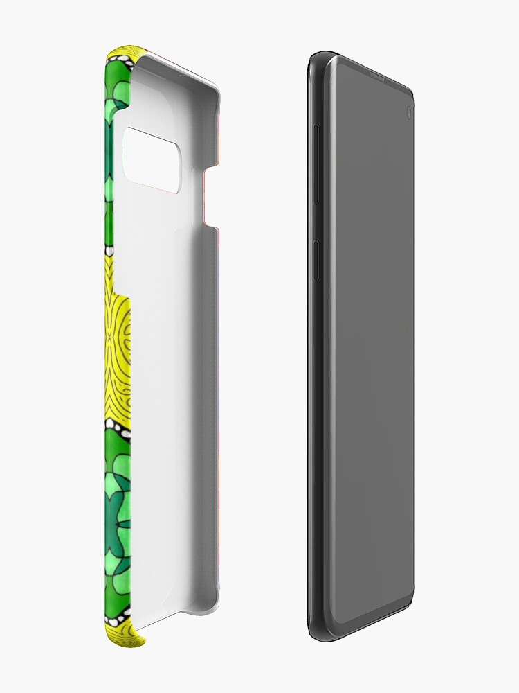 Alternate view of Psychedelic Abstract colourful work S7(Tile) Case & Skin for Samsung Galaxy