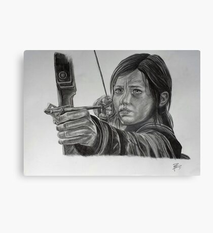 """Ellie"" of The Last of Us Canvas Print"