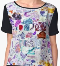 Psychedelic Cytology Women's Chiffon Top